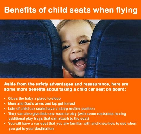 Benefits of child seat on board