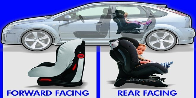 Rear facing vs Forward Facing