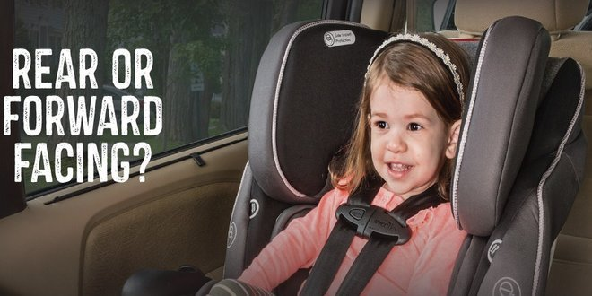 Front & Rear Facing Convertible Car Seat